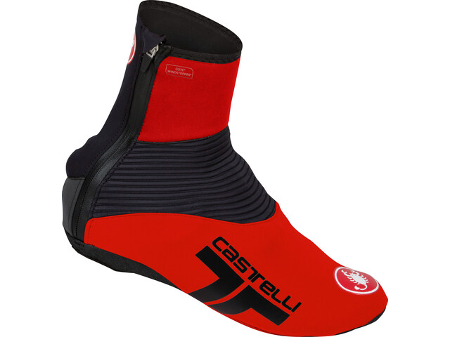 Castelli Narcisista 2 Cubrezapatillas, red/black